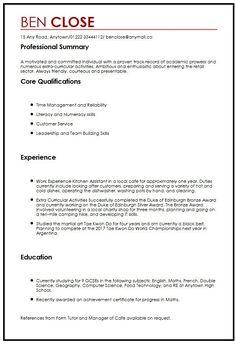 Work experience cv template year 10 kjdsx1t2 dhaka pinterest cv template teenager spiritdancerdesigns Choice Image