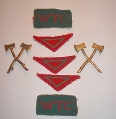 Women's Timber Corps Badges and Insignia