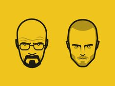 Breaking Bad Illustration by Book Mark Affiche Breaking Bad, Art Breaking Bad, Breaking Bad Tattoo, Breaking Bad Party, Heisenberg, Tatuaje Breaking Bad, Bad Logos, Grumpy Old Men, Cool Art Drawings