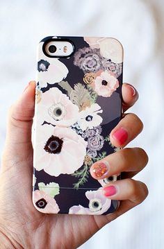 UNE FEMME floral iPhone 6, iPhone 6 PLUS, iPhone 5/5s case