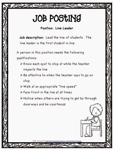Opinion Writing For An Authentic Purpose Classroom Job
