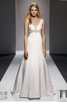 New With Tags Galina Wedding Dress SV9635, Size 10  | Get a designer gown for (much!) less on PreOwnedWeddingDresses.com