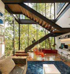 Contemporary Residence Interior in Brazil limantos residence luxery interior