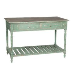 French Shabby Chic Vintage Style Green Console Table Sideboard by by Olive and Sage, http://www.amazon.co.uk/dp/B0084UC1VO/ref=cm_sw_r_pi_dp_QYI6qb0YYDK84/279-1662194-3794455