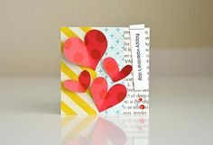 valentine's day mini card - by clouds85