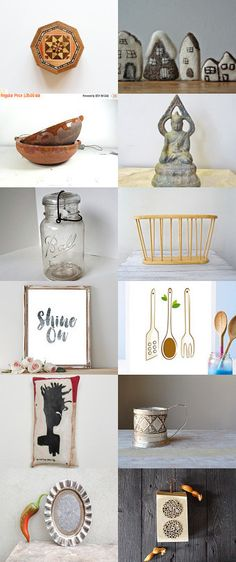 To Make a Home by Anita T. on Etsy--Pinned with TreasuryPin.com
