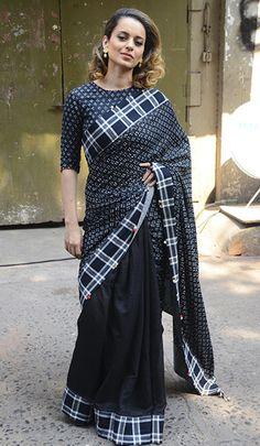 Kangana Ranaut in a Pero saree