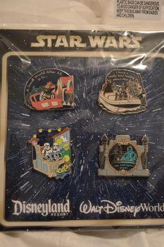 Star Wars Disney collectible pins