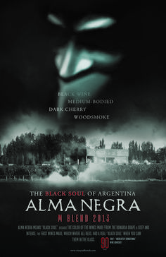 "Alma Negra M Blend 90 points ""Absolutley Sensational"" -Robert Parker's Wine Advocate"