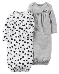Baby Girls Leggings 2 Pack White Floral /& Yellow Kids Leggings NB 9-12m