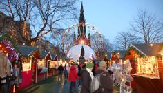Hubby says Christmastime in Edinburgh is a must-experience-with-the-kids wonderland!