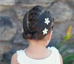 Kid Hairstyles, Little Girl Hairstyles, Braided Hairstyles, Rope Braid, Baby Girl Hair, Hair Tutorials, Hair Ideas, Hair Care, Hair Makeup