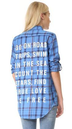 Sundry Объемная рубашка To Do List