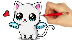 Kids Board, Kids Learning, Hello Kitty, Cats, Drawings, Fictional Characters, Breeds Of Cats, Drawings Of Cats, Kittens