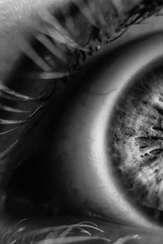 Download this free photo from Pexels at https://www.pexels.com/photo/grayscale-photo-of-human-eye-120271/ #black-and-white #blur #sight