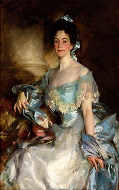 John Singer Sargent: Portrait of Mrs. A. Lawrence Rotch (1903)