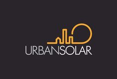 """The simplistic cityscape topping the text works really well because not only does it give the design a little extra """"flare"""", it also serves as a play on words so to speak of the brand. Utilizing yellow was also a good call because yellow is reminiscent of the sun, which is in direct correlation with """"solar""""."""