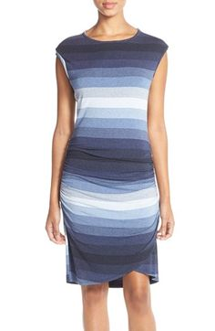 KUT from the Kloth Stripe Jersey Sheath Dress available at #Nordstrom