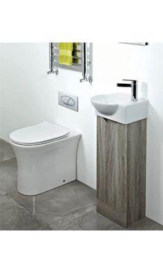 Phoenix Georgia Avola Cloak Room Vanity Unit and Basin Cloakroom Vanity Unit, Corner Vanity Unit, Vanity Units, White Mirror, White Vanity, Mirrors Plain, Concealed Cistern, Shower Basket, Fixed Shower Head