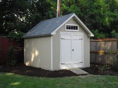 Side Yard - Shed - DIY from Costco $1399.