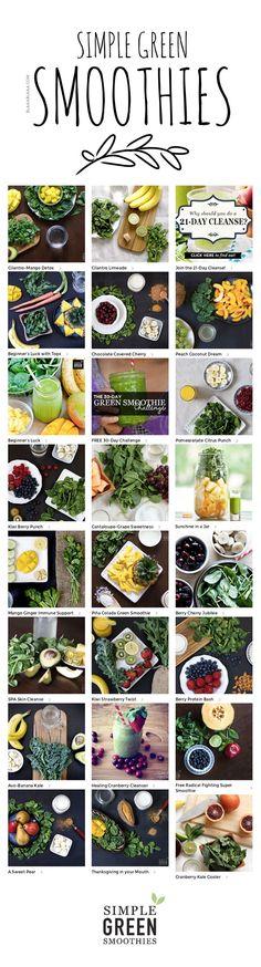 Simple Green Smoothies Recipes FOLLOW US on https://www.facebook.com/LikeBlaaaBlaaa