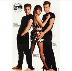 Luke Perry, Shannen Doherty and Jason Priestley . Beverly Hills 90210, Luke Perry, Brandon Walsh, Mejores Series Tv, Jason Priestley, The Originals Tv, Shannen Doherty, Burt Reynolds, 1990s