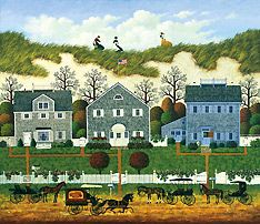 Charles Wysocki, Nantucket Winds