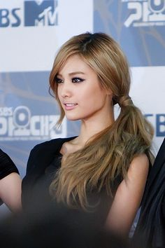 After School's Nana - side pony tail