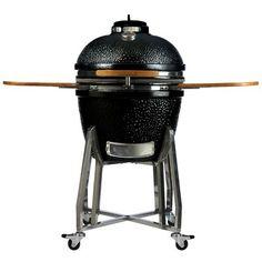 Vision Grills B Series Kamado Charcoal Grill with Smoker