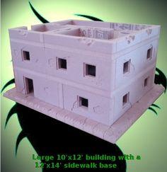 Stephen Highlen is raising funds for Miniature Wargaming Urban Terrain System on Kickstarter! Hand made custom table-top game terrain. Game Terrain, 40k Terrain, Wargaming Terrain, Warhammer Terrain, Warhammer 40k, Military Diorama, Prop Design, Fantasy Miniatures, Tabletop Games