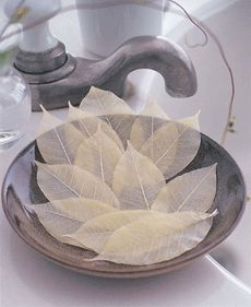 Each leaf is good for 1-2 hand washes!!!  So very pretty!