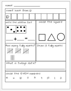 Tales From a K-1 Classroom: Touch Coins and Morning Math  I could adapt these for my students!