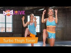 """Crunch Live """"Turbo Thigh Toner"""" Preview - YouTube"""