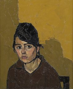 German Girl, Sir Kyffin Williams, R.A. (1918-2006)