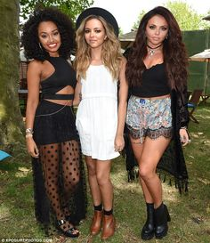 Wireless Festival in July with Jade Thirlwall and Jesy Nelson, previously sported a Afro