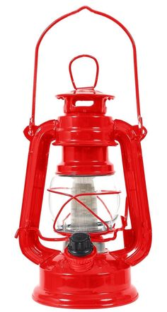 Modern Look For Classic Camping Lantern. ROTHCO RED 12-BULB LANTERN. On / Off Switch w/ Adjustable Light Output. 12-Bulb LED Light. Uses Four AA Batteries (not included). | eBay!