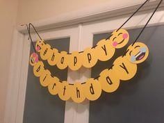 Bandera de Emoji happy birthday  feliz cumpleaños fiesta