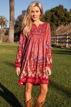 Free shipping with Promo Code: Freeship BOHO Dress - Sassy Posh