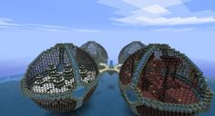 Elemental BIO-Spheres Minecraft Project
