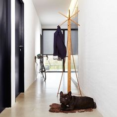 Mill is a hall stand that fits into any modern home. Sculptural by design it is as beautiful draped with clothes as it is on its own. Design by Dane is behind this beauty.  GET INSPIRED and DISCOVER new upcoming Nordic design & fashion at eniito.com  #eniito #coatrack #rack #scandinaviandesign #nordicinspiration #danishdesign #qualityproducts #homestyling #interiordesign #interiorstyle #hallway #woodwork #woodcraft