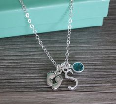 New Mother Necklace Gifts for New Mothers Big by MadiesCharms