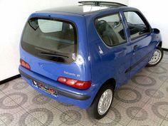 Fiat Seicento SX 0.9 Viatura Nacional. Versão Seicento SX 0.9 i. Selo de 17 Euros. Vidros elétricos, fecho central de portas com comando remoto, rádio com K7 + caixa de 10 CDS, Alarme,