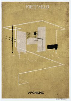 Gallery - Federico Babina's ARCHILINE Paints the Essence of Architecture's Greatest Works - 6