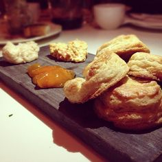 Awesome buttery biscuits from The Hart and the Hunter