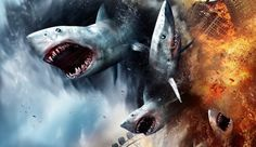 It's official! 'Sharknado was confirmed on Thursday during a Syfy Television Critics Association panel. Tara Reid and Ian Ziering will be returning. Tara Reid, Sharknado Movies, Ian Ziering, Ann Coulter, Great White Shark, Shark Week, Movie Trailers, New Movies, Special Effects