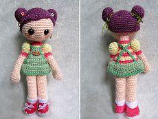 Кукла амигуруми крючком. Схема вязания. | Амигуруми — схемы, амигуруми крючком, вязание и игрушки амигуруми. Амигуруми всех стран!