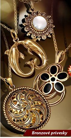 bronzove privesky Piercing, Gold Necklace, Jewelry, Gold Pendant Necklace, Jewlery, Jewerly, Piercings, Schmuck, Jewels