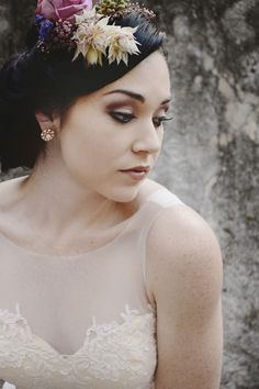 Beauty in Ruins Wedding Inspiration   SouthBound Bride