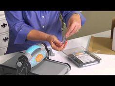 How To Use Sizzix Fabi Machine for Fabrics Die-Cutting. CutAtHome.com