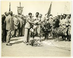 St. Louis Cardinals first basemen Jim Bottomley receiving the National League MVP honor for 1928